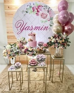 25 creative and fun ideas - Birthday FM : Home of Birtday Inspirations, Wishes, DIY, Music & Ideas Decoration Buffet, Deco Buffet, Balloon Decorations, Birthday Party Decorations, Wedding Decorations, 40th Birthday, Birthday Parties, Décor Boho, Gold Party