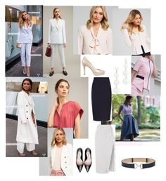 Back to work by kate-suttie on Polyvore featuring polyvore, moda, style, Witchery, Off-White, Rebecca Minkoff, fashion and clothing