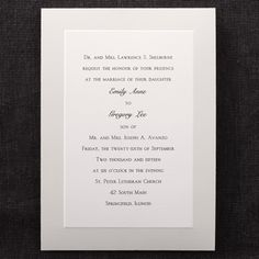 Pearl Frame - Invitation    | 40% OFF  |  http://mediaplus.carlsoncraft.com/Wedding/Wedding-Invitations/3124-BS5141-Pearl-Frame--Invitation.pro