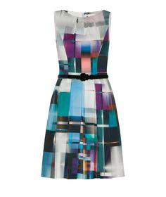Cue - Multi Colour Print Dress