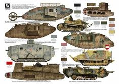 Tanks of the First World War