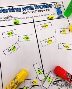 I love word work activities that are engaging and fun! This bundle includes all phonics patterns... You are set for the year! #HollieGriffithTeaching #TeacherResources