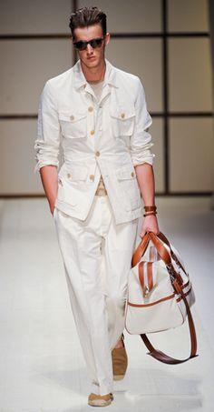 Salvatore Ferragamo Spring/Summer 2012 Menswear Collection