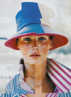 Carmen Kass in 'Croisiere Californie' by Peggy Sirota in Vogue Paris (December Carmen Kass, Vogue Paris, Color Photography, Editorial Photography, Fashion Photography, Creative Photography, Photography Ideas, 1990s, Paris December