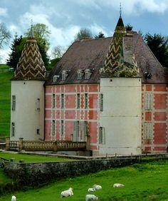 Château de Ménessaire, Ménessaire, Côte-d'Or department, Bourgogne, France -