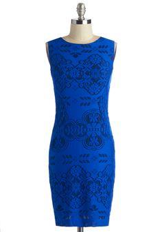 Sapphire and Ice Dress