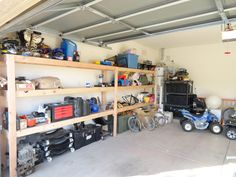Ana White | Almost wall to wall garage storage - DIY Projects
