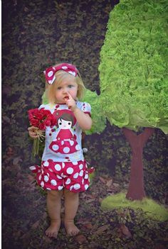 Poppy Girl Top & Bubble Shorts  12 Months to 10 Years Now On Sale
