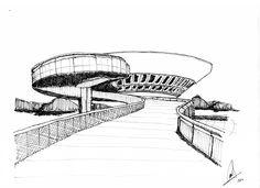 Niteroi Museum - Oscar Niemayer