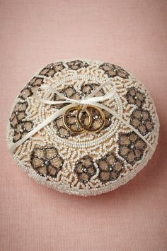 Brocante Ring Pillow in Décor Keepsakes at BHLDN