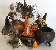 Mini Witches Steampunk Hats