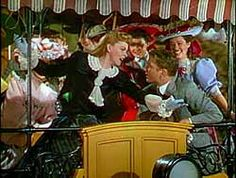 """Meet Me in St. Louis (1944) Esther sings """"The Trolley Song"""". She is falling in love with her next door neighbor, John. The song was made in one take which is attributed to a talented Judy Garland."""