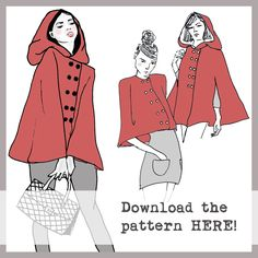 Fairy Tale Cape Pattern | free download