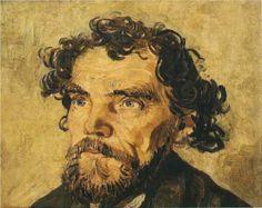 Portrait of a Man 1887.  Vincent van Gogh