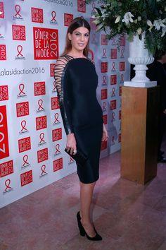 Bianca Brandolini D'Adda in Ralph Lauren Collection