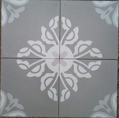 Carreaux ciment Ref Martha XXX en 14x14