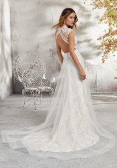 Lenore Wedding Dress   Style 5689   Morilee Mori Lee Bridal, Mori Lee Wedding Dress, Lace Wedding Dress, Wedding Dresses Photos, Perfect Wedding Dress, Tulle Wedding, Bridal Wedding Dresses, Wedding Dress Styles, Elegant Wedding