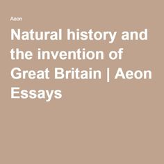 essays on great britain