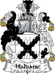 Haldane Family Crest apparel, Haldane Coat of Arms gifts