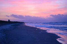 Sunset Beach, NC....sunrise