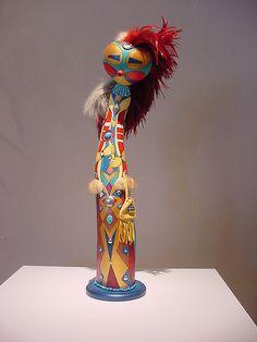 gourd art statue
