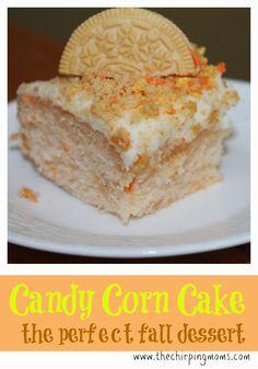 Candy Corn Cake Recipe. Fun & Festive Dessert Idea for Fall!