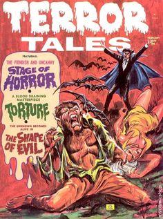 Terror Tales (Magazine) Vol. 05 (1973) comic books