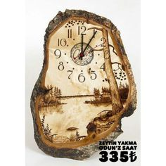 ,What's wood burning ? The pine burnt by treatment process by transferring a photo on wood is named wooden decoration. In wood burning , determining th. Wood Burning Crafts, Wood Burning Patterns, Wood Burning Art, Wooden Art, Wooden Crafts, Diy Crafts, Pyrography Patterns, Wood Clocks, Wood Creations