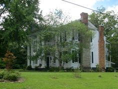 Gingko Manor..one of the oldest houses in Dadeville..dates from before Civil War. It is restored and is used for weddings & events.