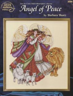 Angel-of-Peace-Cross-Stitch-Pattern-Booklet-ASN-3696-Masterpiece-Collection