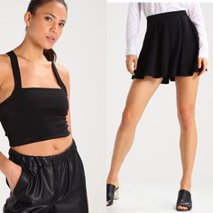 Summer ensemble Top Missguided Shorts Only