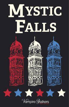 Fall Background, Mystic Falls, Vampire Diaries, Taj Mahal, Originals, Backgrounds, Movie Posters, Travel, Google Search