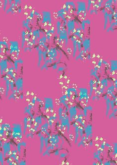 Deep Sea Fashion Prints 2012/13 -Summer Colourway by Nichola Balaam, via Behance