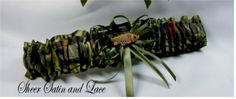 Toss Fishing Camouflage wedding garters FISH by SheerSatinandLace, $14.99