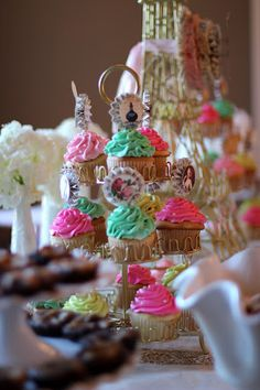 "Marie Antoinette ""Let them eat cake"" Themed party"