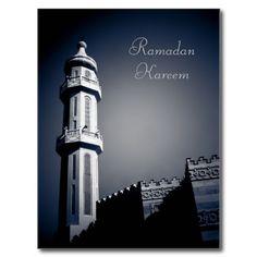 Eid mubarak - #Ramadan Kareem #Postcard on #Zazzle starting at $1.00  #kuwait   #photography   #mosque   #religion   #islam   #holidays