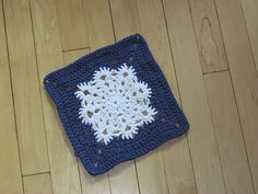 Ravelry: Woolly's Snowflake Square pattern by Letitia Sherriff