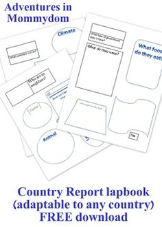 Creating country reports - Adventures in Mommydom