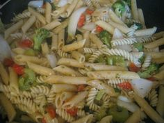 The best type of salad.... is PASTA salad!