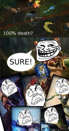 League of Legends fun