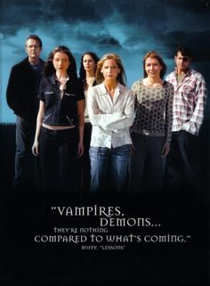 Buffy the Vampire Slayer  I LOVED that show!