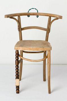Rope Handle Altered Ego Chair, 2010. by Leslie Oschmann @anthropologie $980