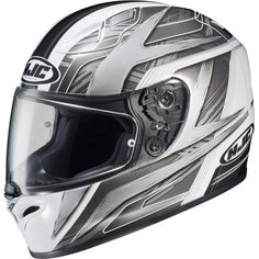 HJC FG-17 Ace Full-Face Motorcycle Helmet (MC-10, Medium). Advanced Kevlar and Fiberglass Matrix Composite Shell; Lightweight, superior fit and comfort using advanced CAD technology. For a perfect fit, FG-17 comes in 3 different shells; 1st shell for XS-S sizing, 2nd for M-L sizing and 3rd for XL-3XL sizing. All sizes of cheek pads are interchangeable in all helmet sizes. SilverCool Interior, Moisture-wicking and odor free liners with advanced anti-bacterial fabric - Crown and cheek pads…