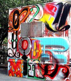 """Most cities are nouns, but New York is a verb.""  —  Cloud Atlas   Street Art NYC   #Art #myshoestory #jcrew"