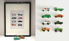 framed toy cars