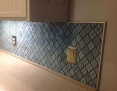 You might want to rethink your backsplash when you see what this husband and wife did!