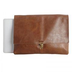 House Doctor Laptop Bag Old School Klein