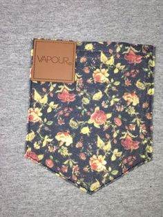 Men's Floral Patch Pocket - from Aquiregarms