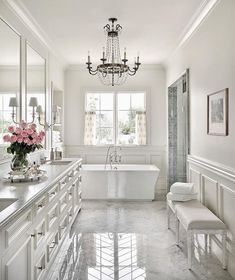 Luxury Bathroom Master Baths Beautiful is definitely important for your home. Whether you pick the Interior Design Ideas Bathroom or Luxury Master Bathroom Ideas, you will make the best Luxury Bathroom Master Baths Bathtubs for your own life. Beautiful Bathrooms, House Design, House Bathroom, Home, House, Bathroom Remodel Master, Bathroom Decor, New Homes, Dream Bathrooms