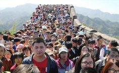 Overrated Places That Aren't Worth Visiting  - 11 million people visit the great wall of china each year. The faces in this photo show how unpleasant the experience is.